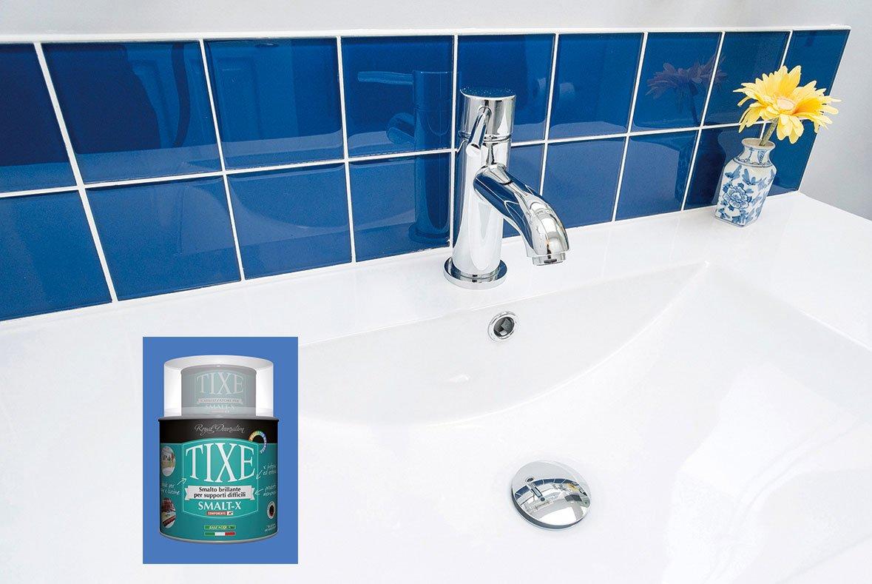 Rinnovare la casa con le pitture a smalto per parete e - Smalto piastrelle bagno ...