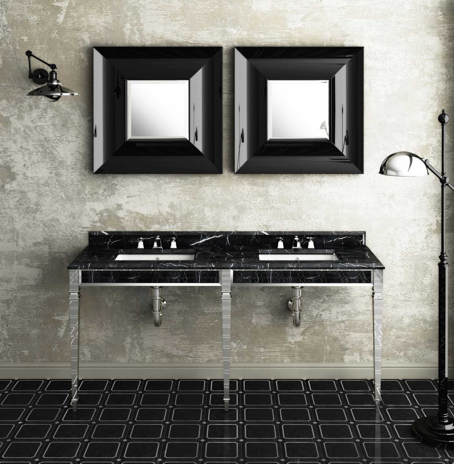 quale stile per il bagno cose di casa. Black Bedroom Furniture Sets. Home Design Ideas