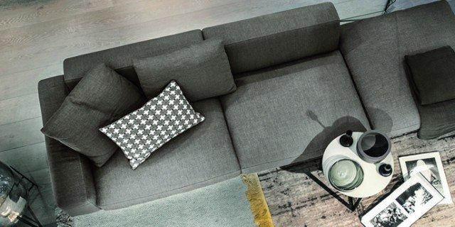 Arredare la zona conversazione con colori soft ed eleganti