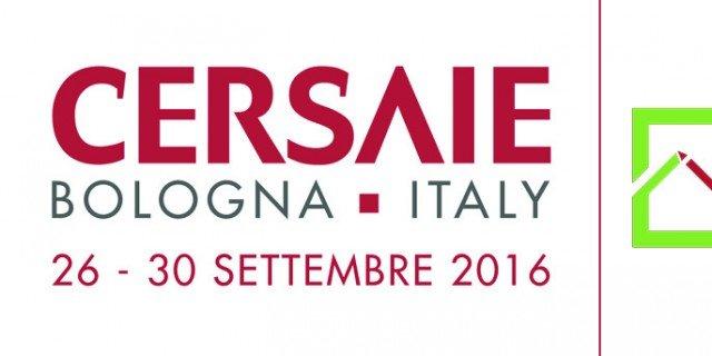 Cersaie 2016 alla fiera di Bologna dal 26 al 30 settembre
