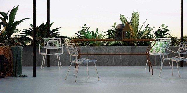 Arredamento casa 2017 arredo con mobili e accessori - Mobili in ferro per esterno ...