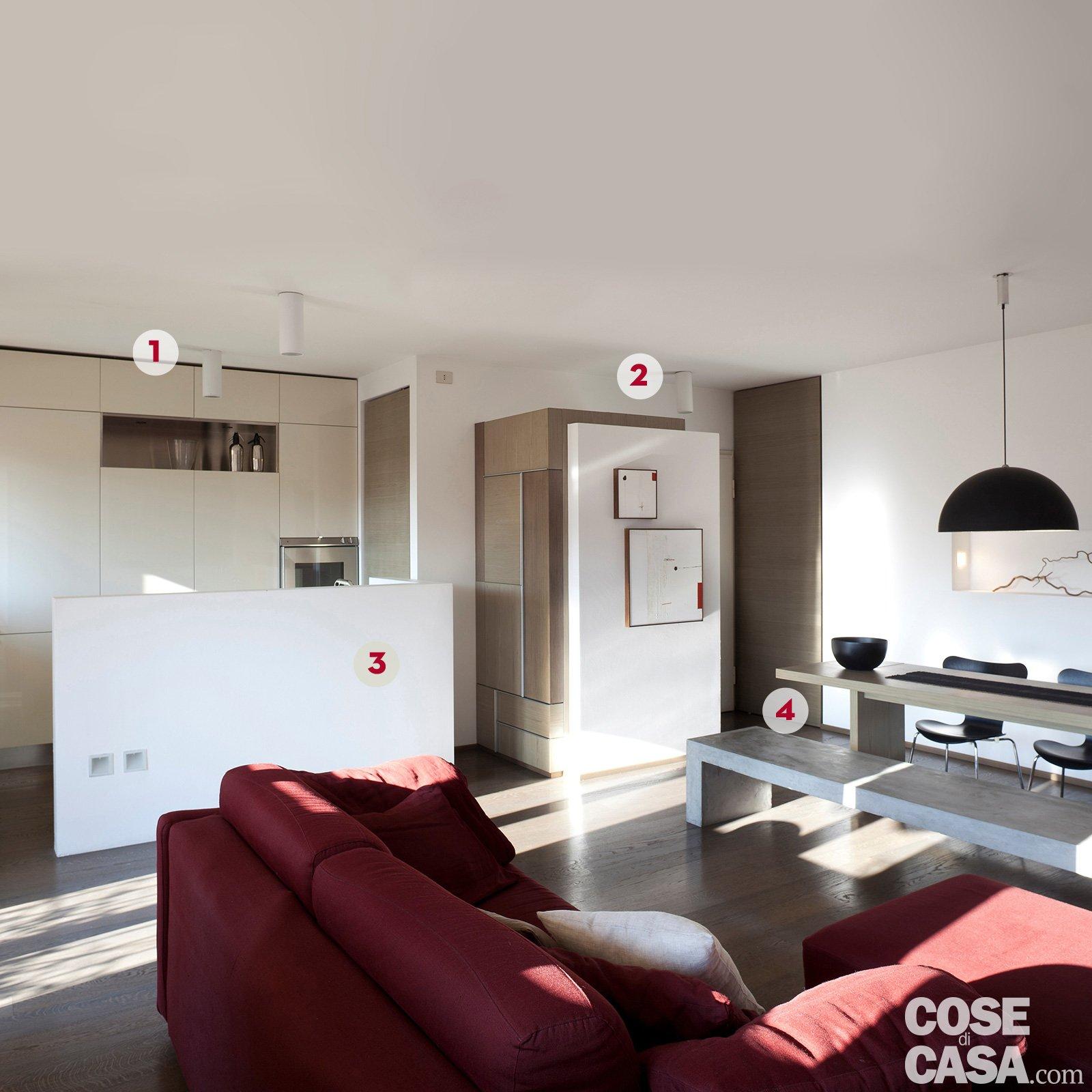 Una Casa Di 65 Mq Con Volumi Funzionali E Originali Quinte