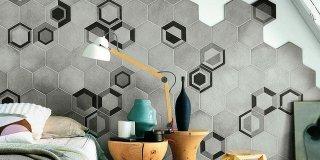 """Piastrelle esagonali, un decor per """"arredare"""" pareti e pavimenti"""