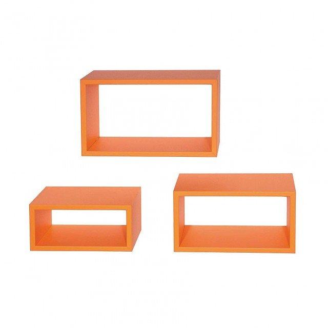 kit-3-mensole-bea-arancione-27-x-15,5-cm