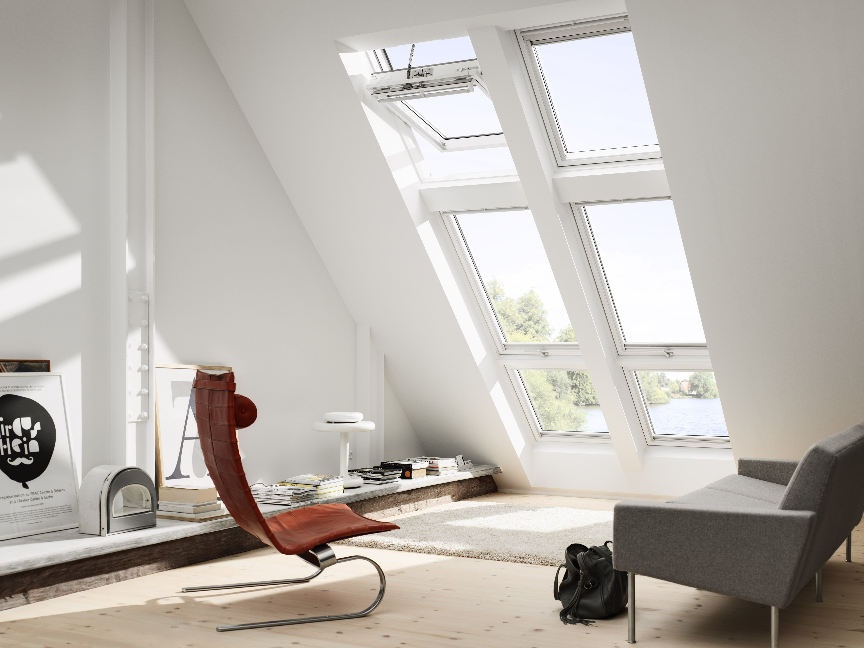 Finestre per tetti piani o a falda cose di casa for Finestre velux per tetti