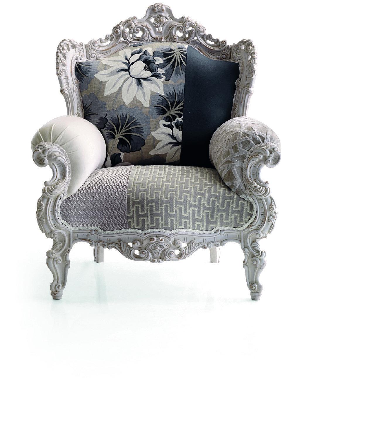 La poltrona in stile barocco. Perfetta in ambienti moderni. Classici ...