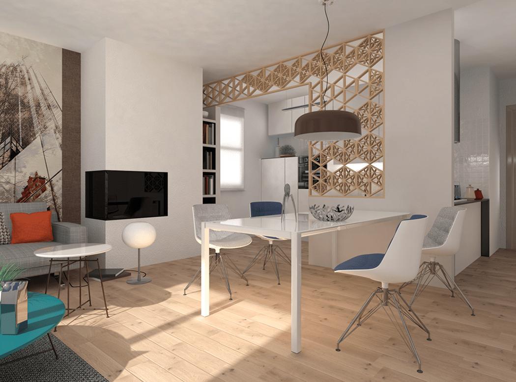 Dividere cucina e soggiorno - Cose di Casa