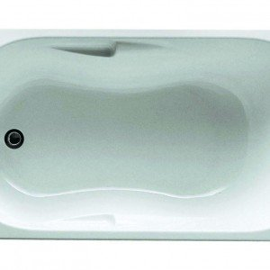 Da incasso, la vasca Aira di Projecta by Jacuzzi è disponibile in più dimensioni. Il prezzo è riferito a quella da 170 x 70 cm. € 129