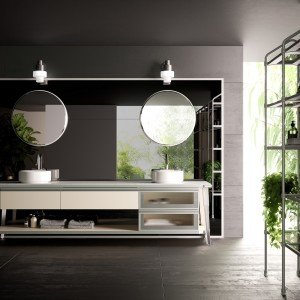 Scavolini Bathrooms, Diesel Open Workshop Bathroom