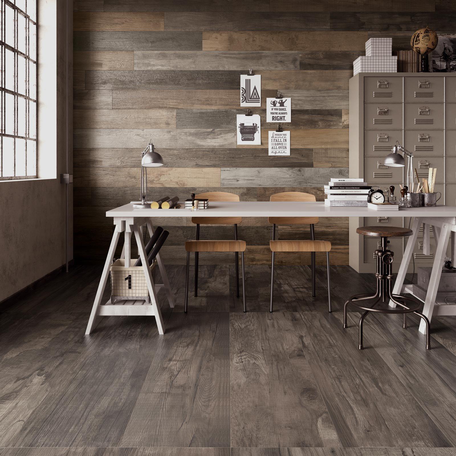 Perfetta planarit delle piastrelle effetto legno con abk - Piastrelle legno ...