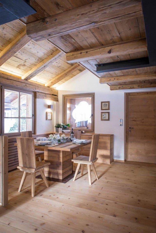 Casa di montagna moderna e funzionale e che fa for Immagini di arredamenti case