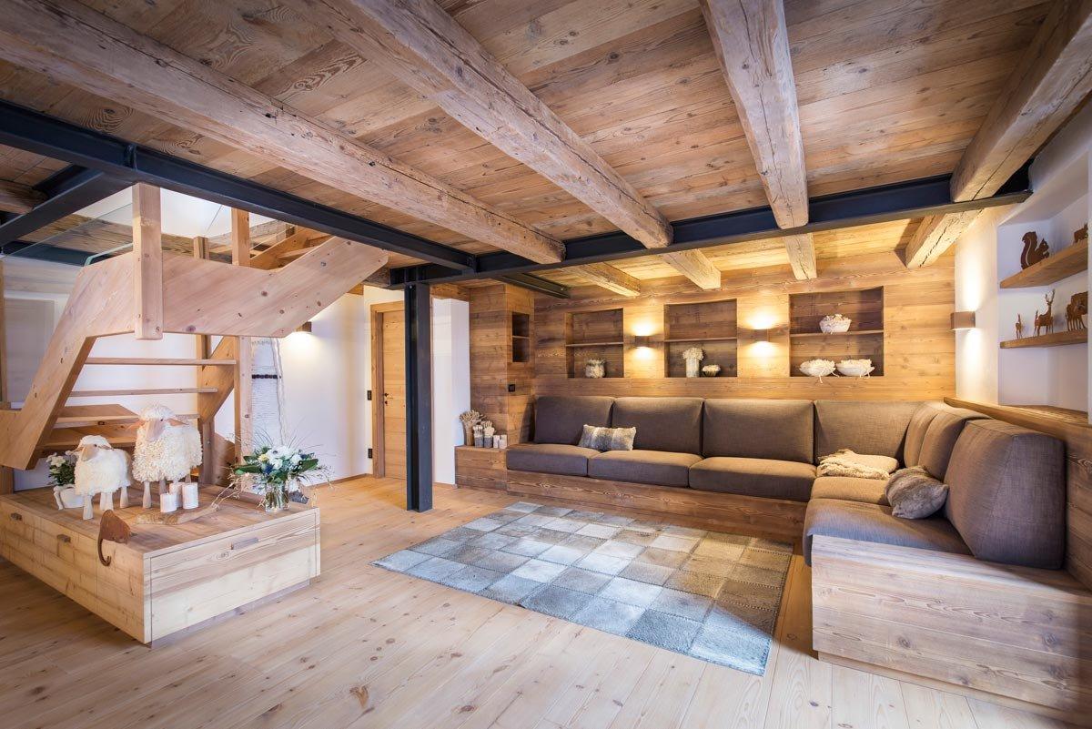 Casa di montagna moderna e funzionale e che fa risparmiare energia cose di casa - Casa montagna arredo ...