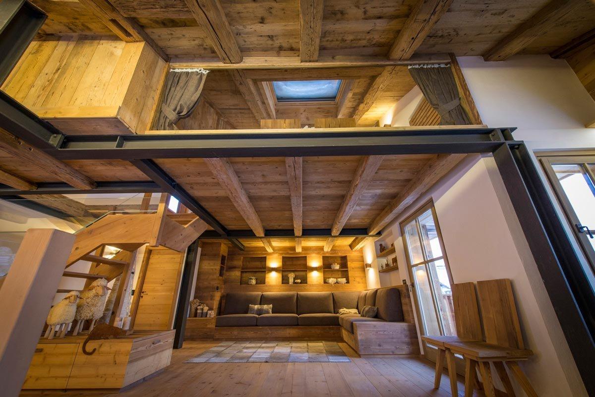 Casa di montagna moderna e funzionale e che fa for Camere di montagna