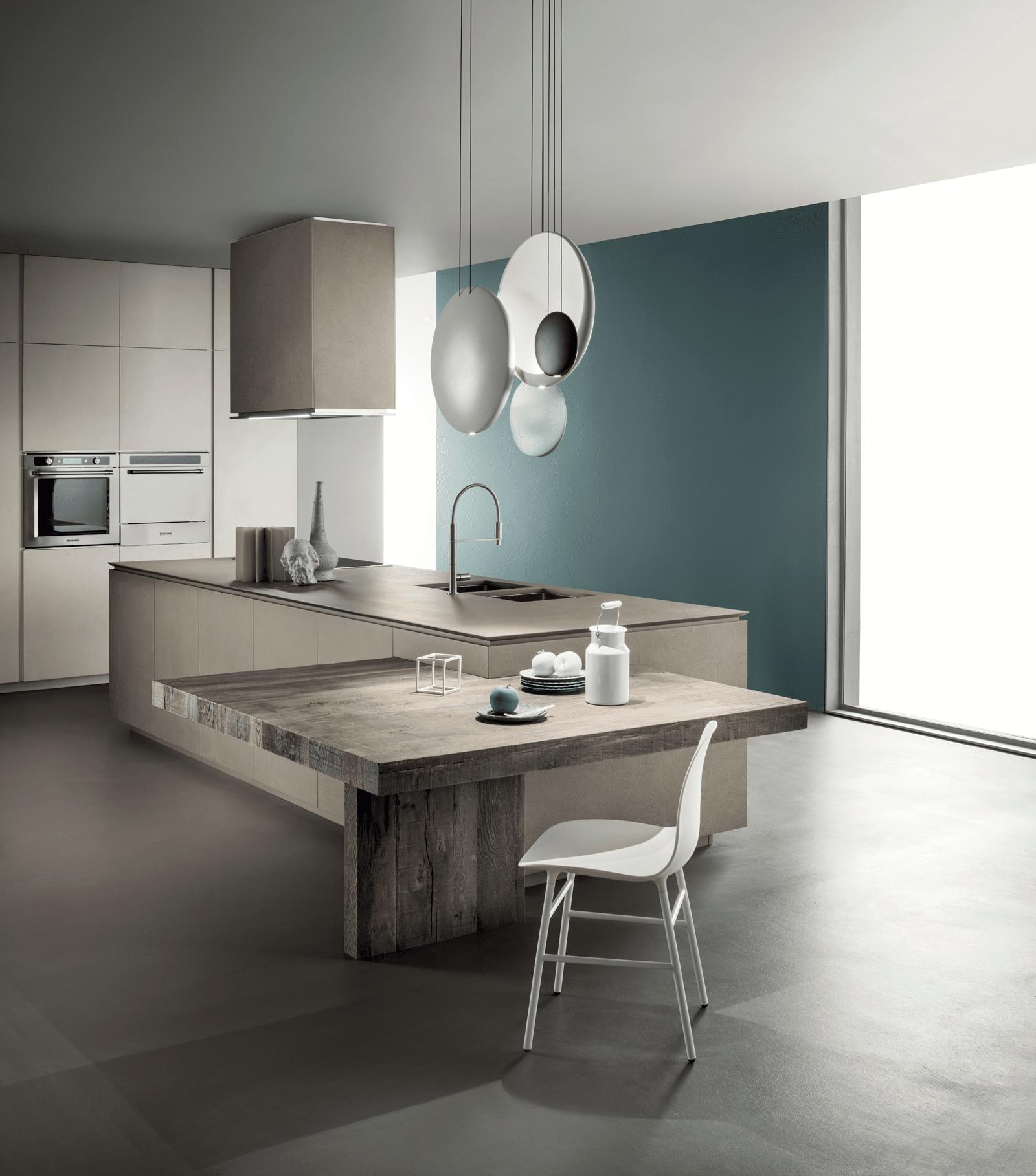 Cucina con l 39 isola il modello ideale a vista sul soggiorno cose di casa - Tavolo isola cucina ...