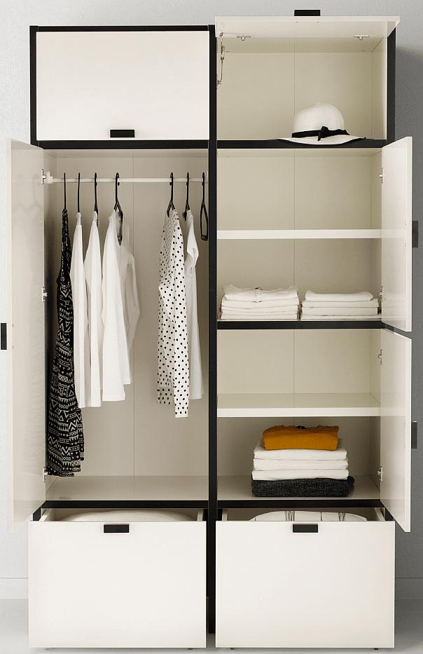 Armadio Guardaroba Ingresso Ikea.Armadi Piccoli E Di Dimensioni Contenute Cose Di Casa