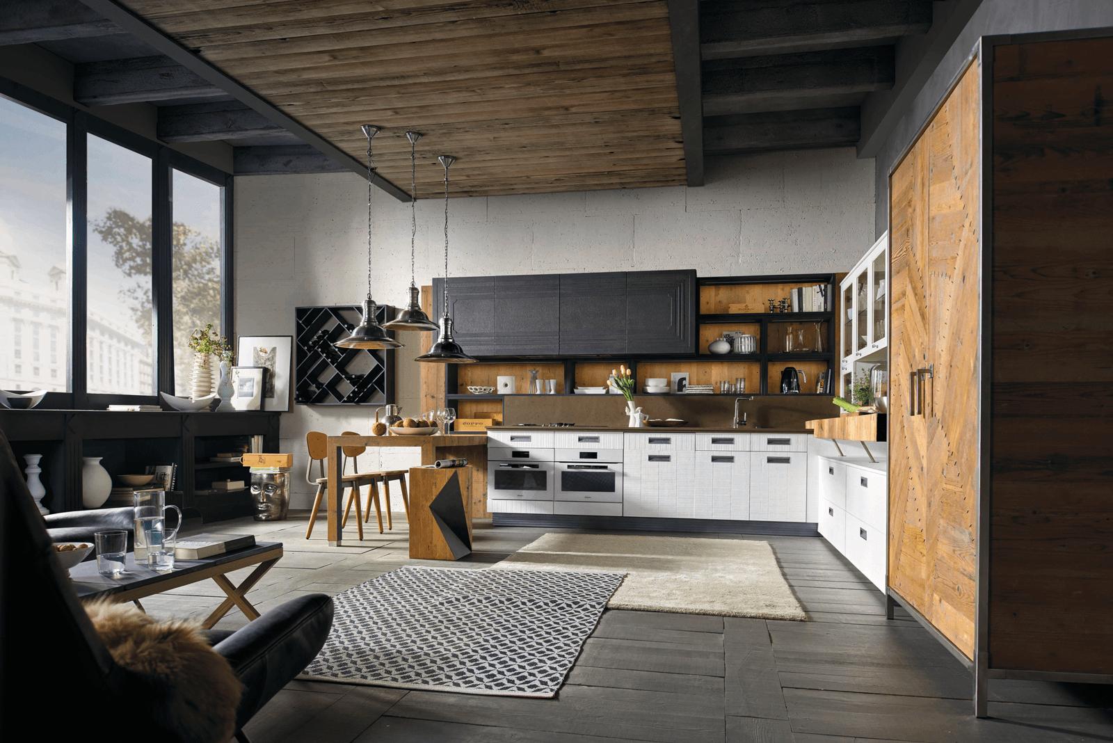 Boiserie attrezzate per le cucine cose di casa - Marchi cucine moderne ...
