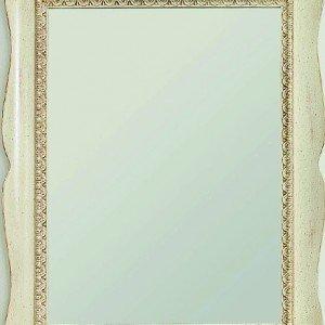 Proposto in versione quadrata o rettangolare, lo specchio Marte di Tonin Casa è in legno. Il prezzo è riferito alla misura 80 x 100 cm. € 564