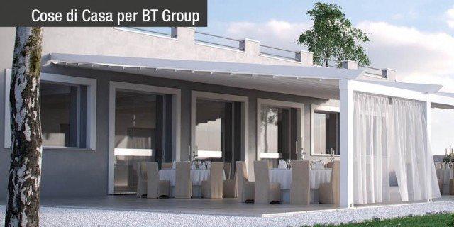 Pergolati BT Group: per il benessere outdoor, anche dopo l'estate