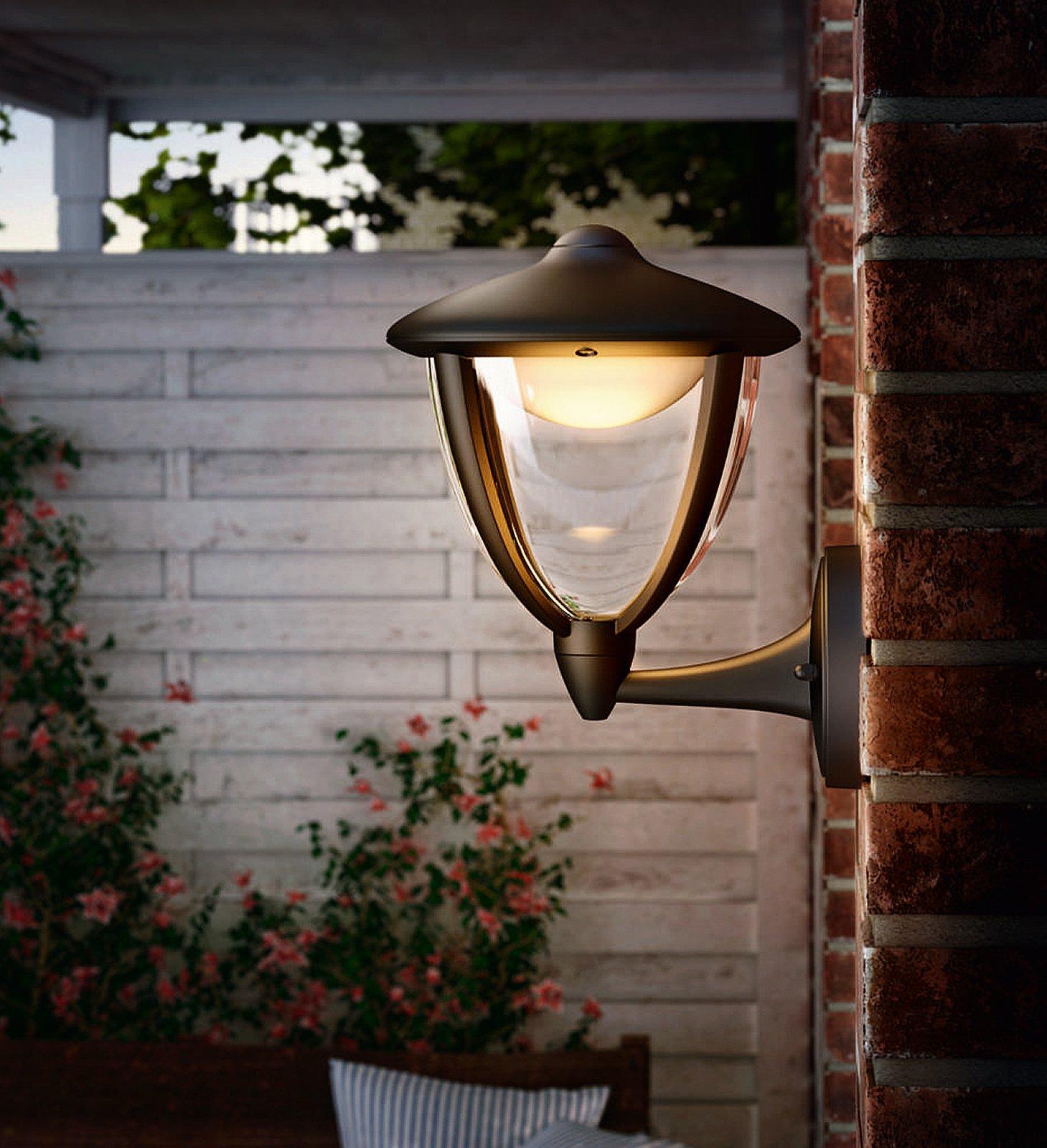 PHILIPS LED Lampada da parete esterno /'Robin/' Lampada Esterno Moderno in plastica A +