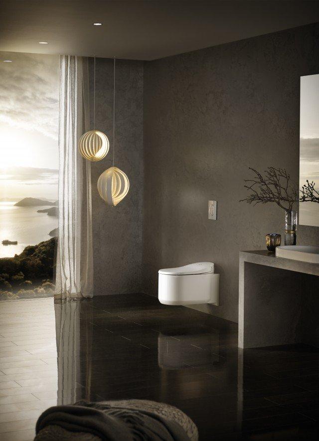 Nuova GROHE Sensia® Arena Shower Toilet, WC con funzione di igiene intima