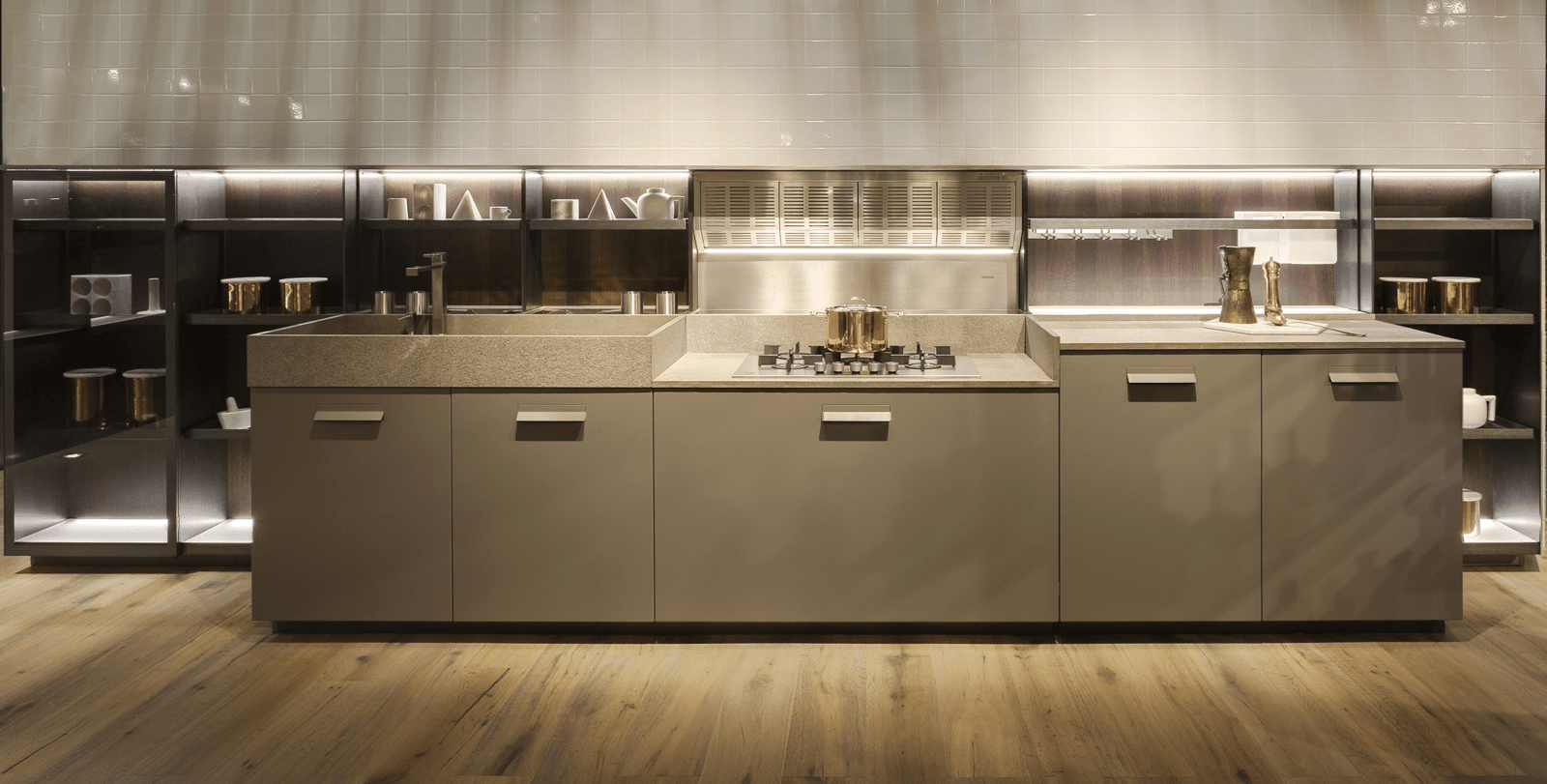 Boiserie attrezzate per le cucine - Cose di Casa