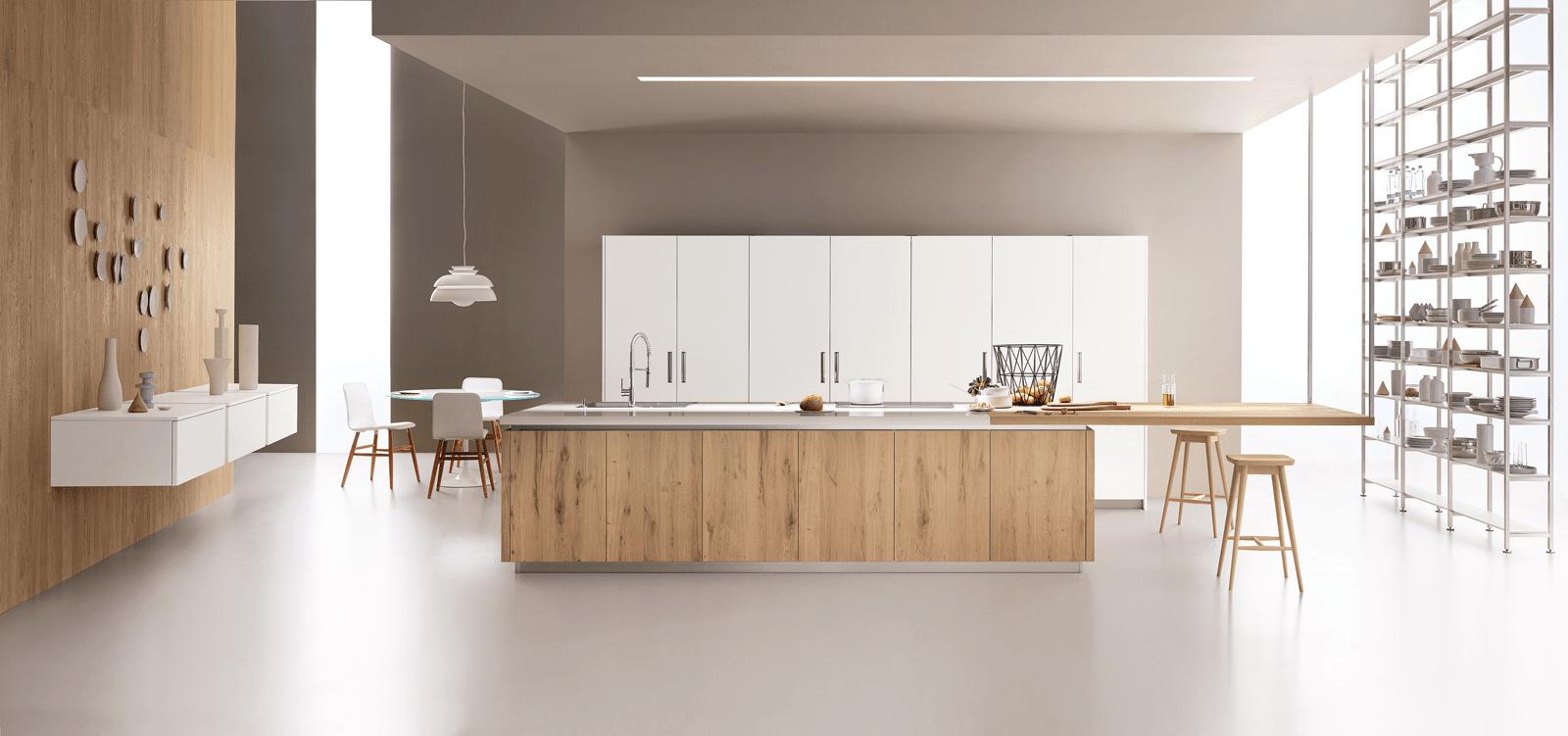 Cucina con l 39 isola il modello ideale a vista sul soggiorno cose di casa - Cucina veneta cucine ...