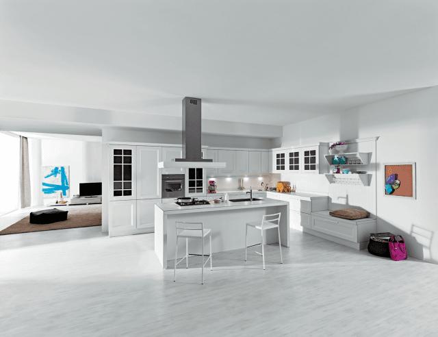 Boiserie attrezzate per le cucine cose di casa - Aran cucine ylenia ...