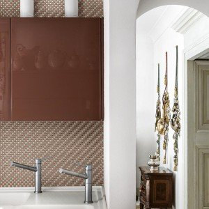 Mosaico Appiani, texture cucina, Cersaie 2016