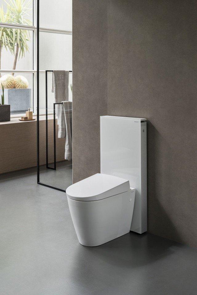 cersaie 2016 geberit monolith per-vaso a-pavimento e wc aquaclean sela
