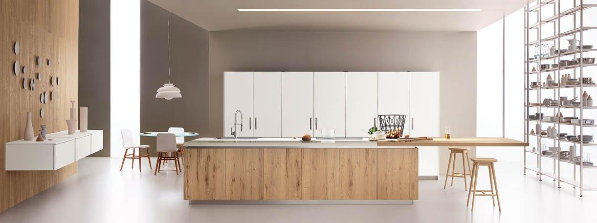 Cucina con l'isola: il modello ideale a vista sul soggiorno - Cose di Casa