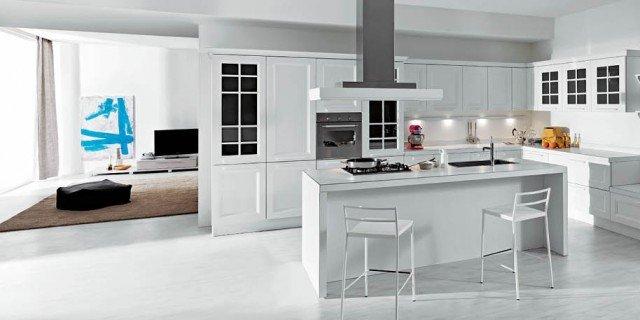 Boiserie attrezzate per le cucine cose di casa - Mensole per cucine ...