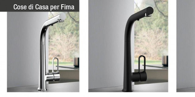 Skinny di Fima Carlo Frattini: il nuovo miscelatore per la cucina, sintesi di design e funzionalità