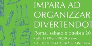 Imparare a organizzarsi divertendosi: evento gratuito a Roma