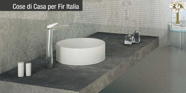 Rubinetteria di design: Synergy di Fir Italia