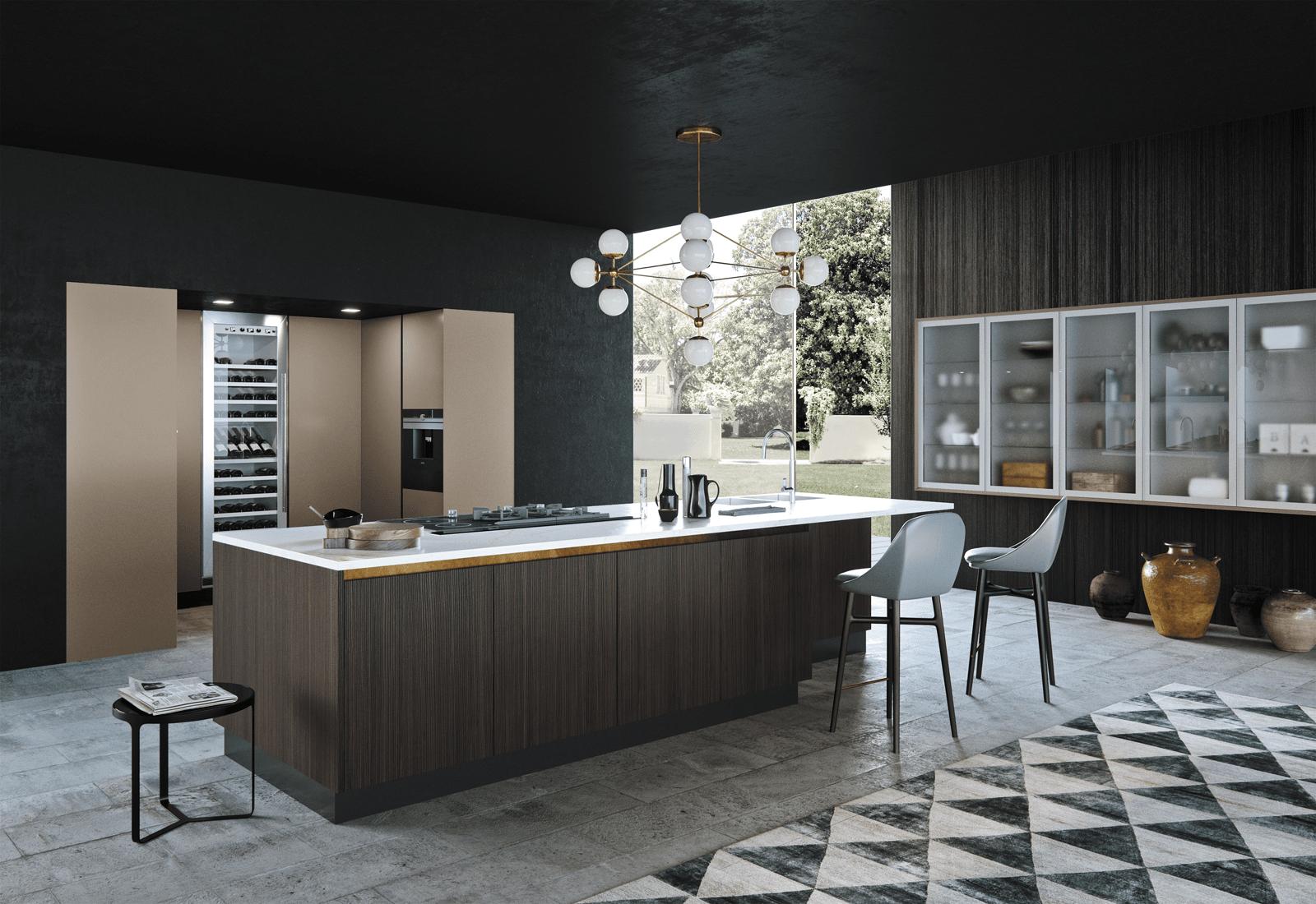 cucina con l isola - 28 images - cucina con l isola il modello ...
