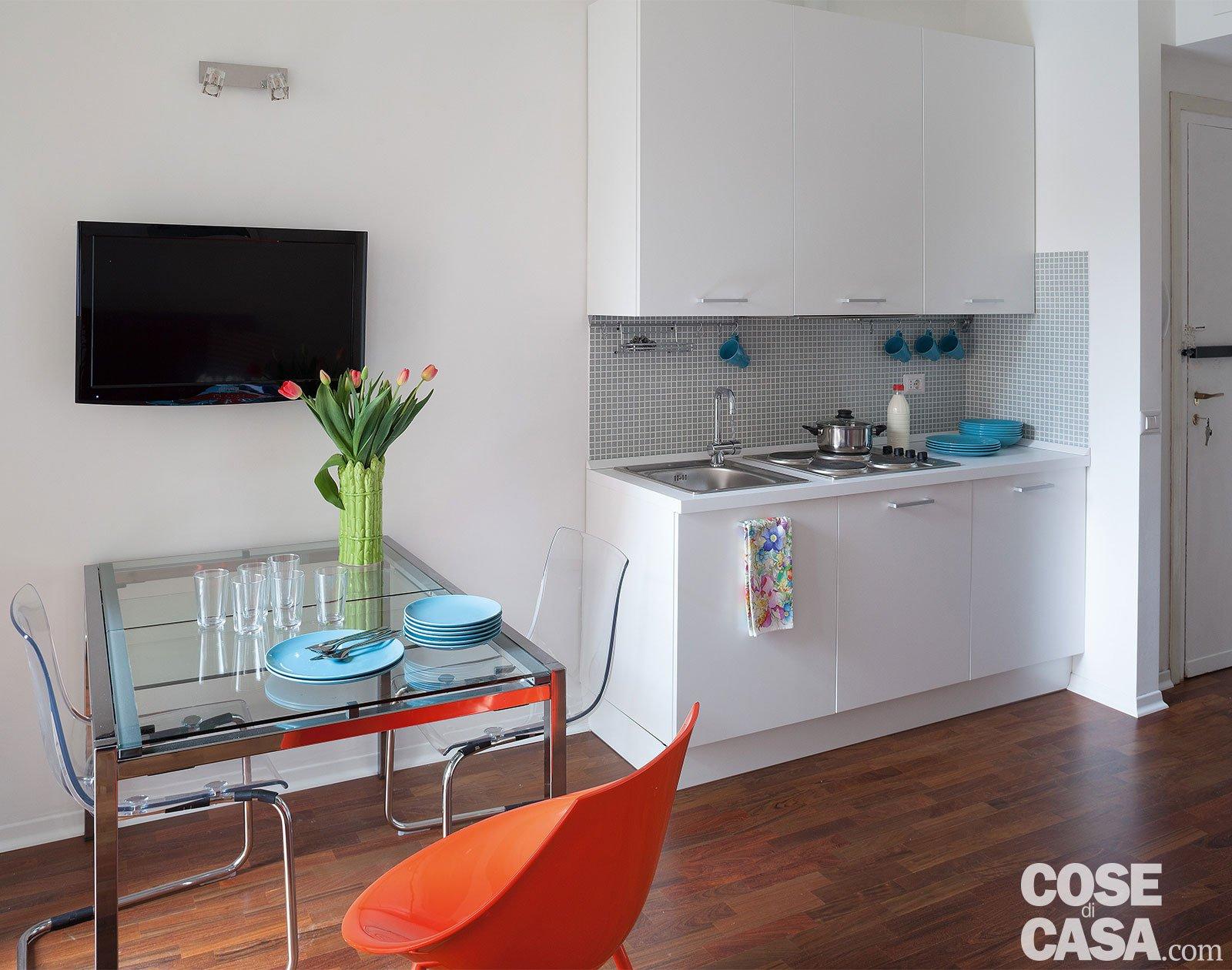 Metri Quadri Minimi Per Abitabilità monolocale: 28 mq ben sfruttati - cose di casa