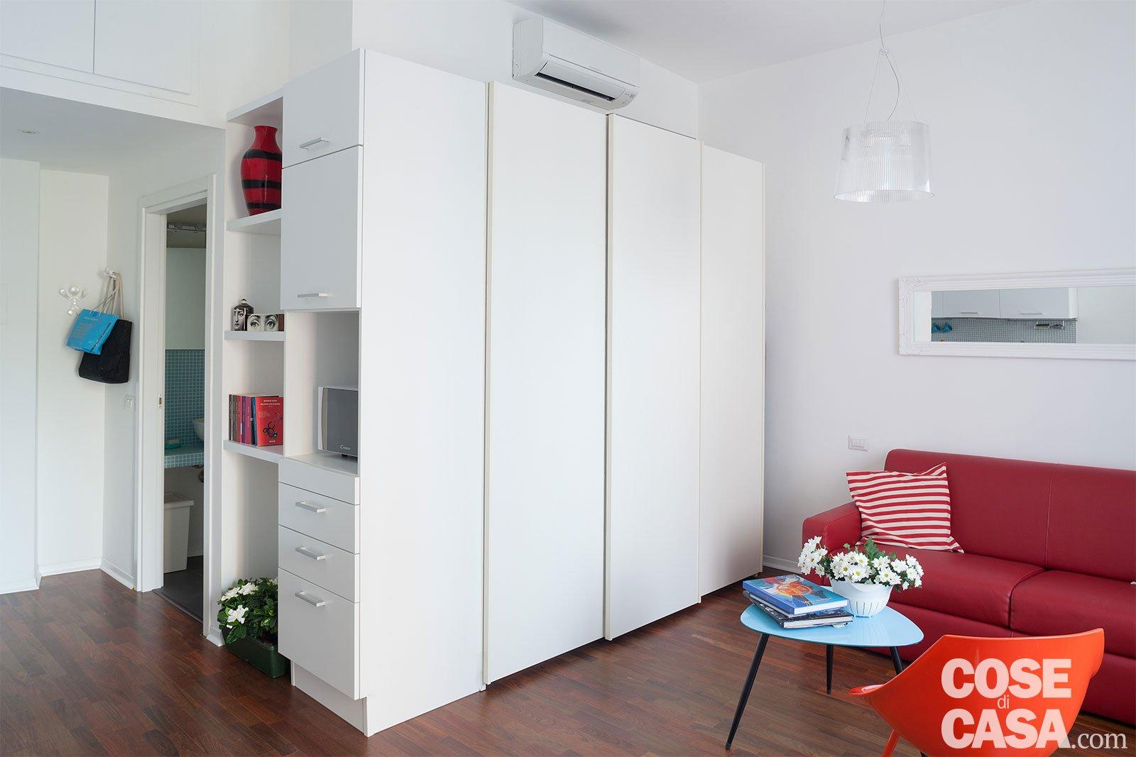 Monolocale 28 mq ben sfruttati cose di casa - Casa 50 mq ikea ...