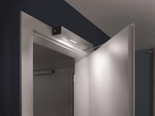 sistema di automazione per porte a battente di Hormann