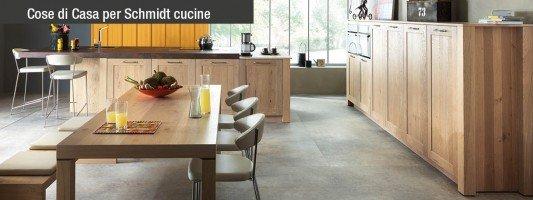 L'autenticità del legno per le cucine di Schmidt