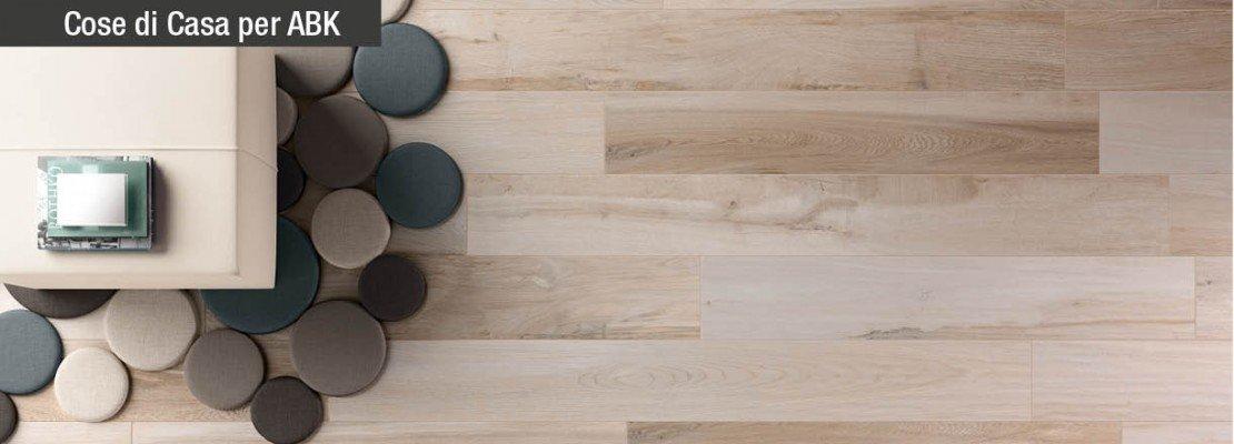 Perfetta planarità delle piastrelle effetto legno con ABK
