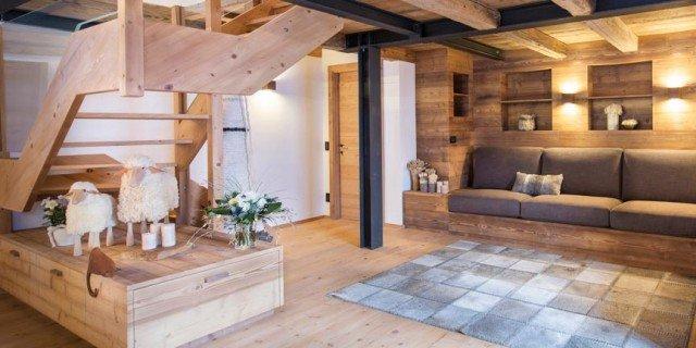 Casa di montagna moderna e funzionale e che fa - Arredamento interno casa moderna ...