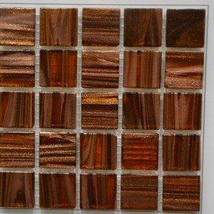 Mosaico Rosso/ramato Mix di VitrexMosaici