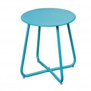 è il costo di 2 tavolini, usati come comodini, Bahamas di Jysk in metallo verniciato disponibile in più tinte. Misurano Ø 45 x H 45 cm. € 59,98*