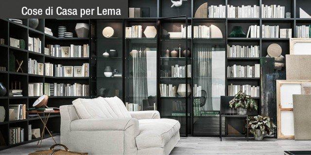 Lema arredamento casa mobili e collezioni - Librerie di design per casa ...