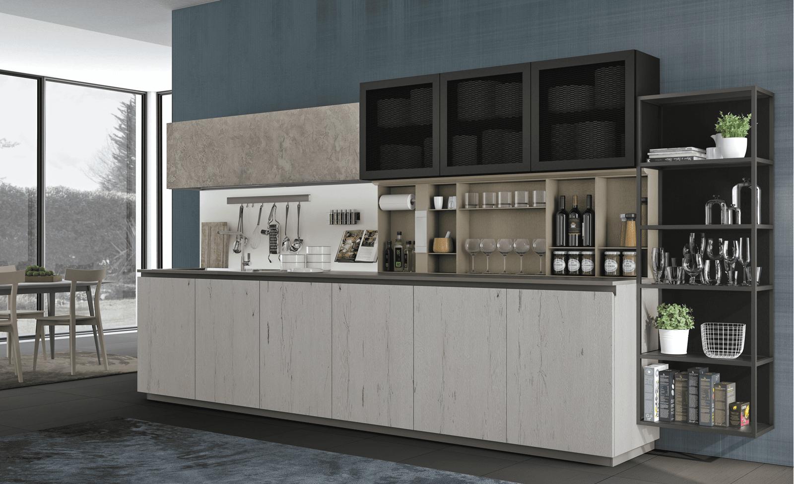 Cucina Con Boiserie : Boiserie attrezzate per le cucine cose di casa