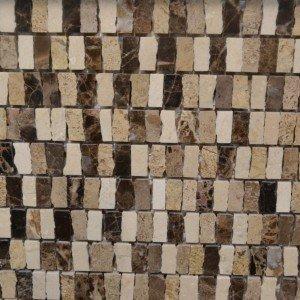 Mosaico effetto pietra di VitreMosaico