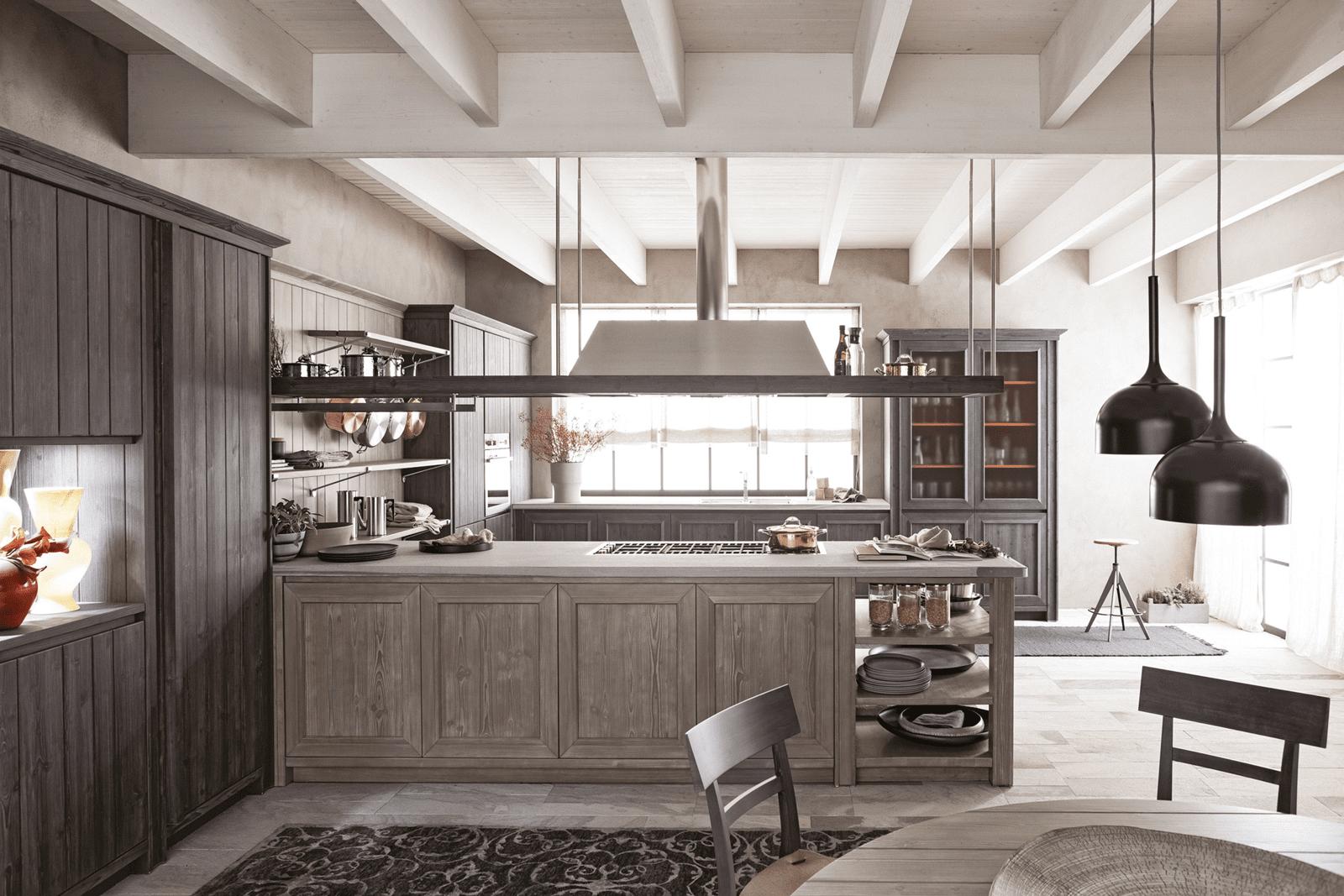 Penisola per la cucina non solo per dividere in zone cose di casa - Penisola per cucina ...