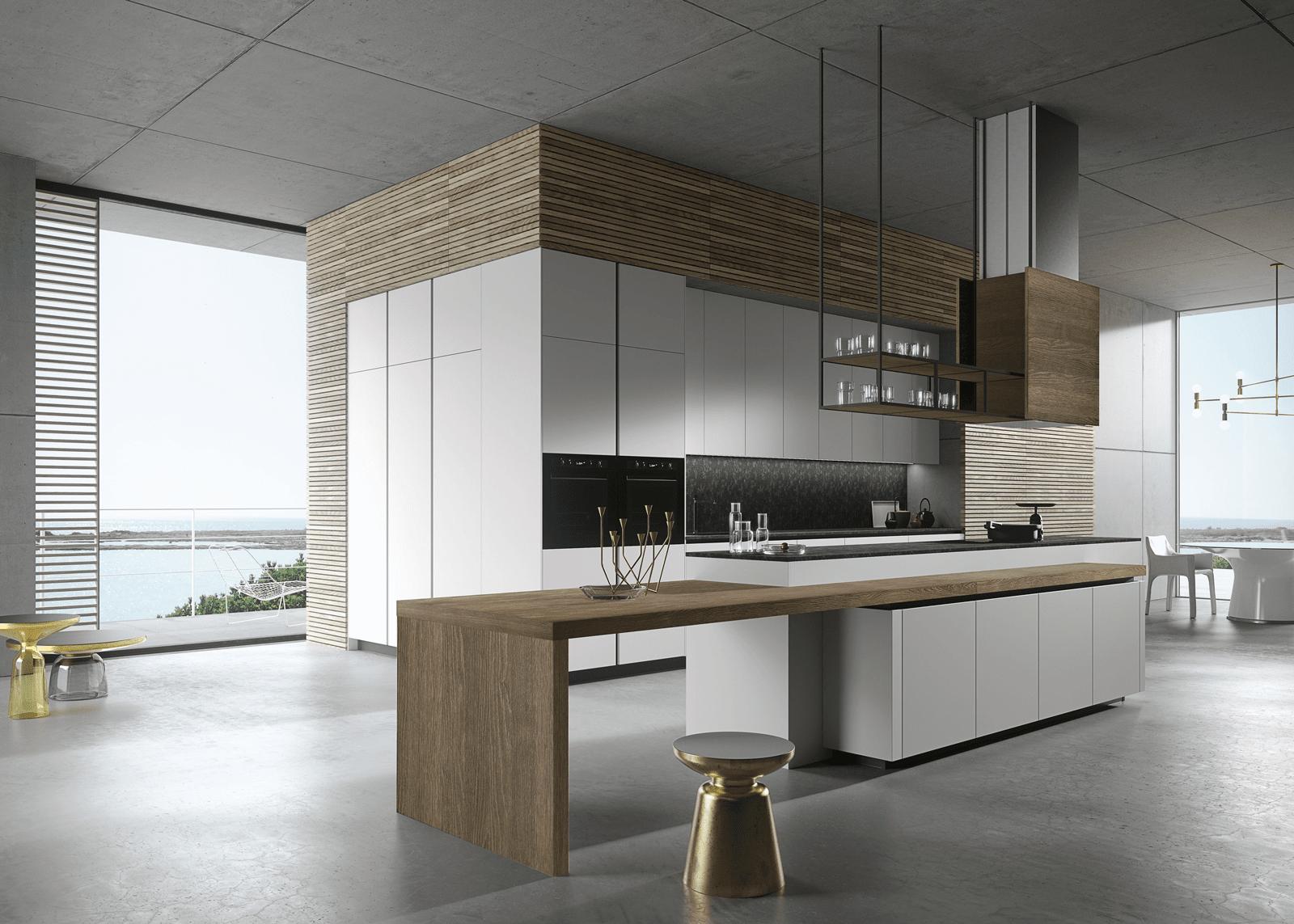 Cucina con l'isola: il modello ideale a vista sul soggiorno - Cose ...