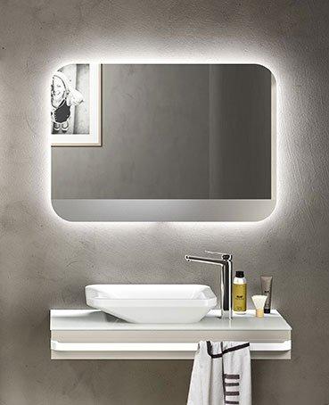 Pulizia semplificata in bagno cose di casa - Specchio da appoggio ...
