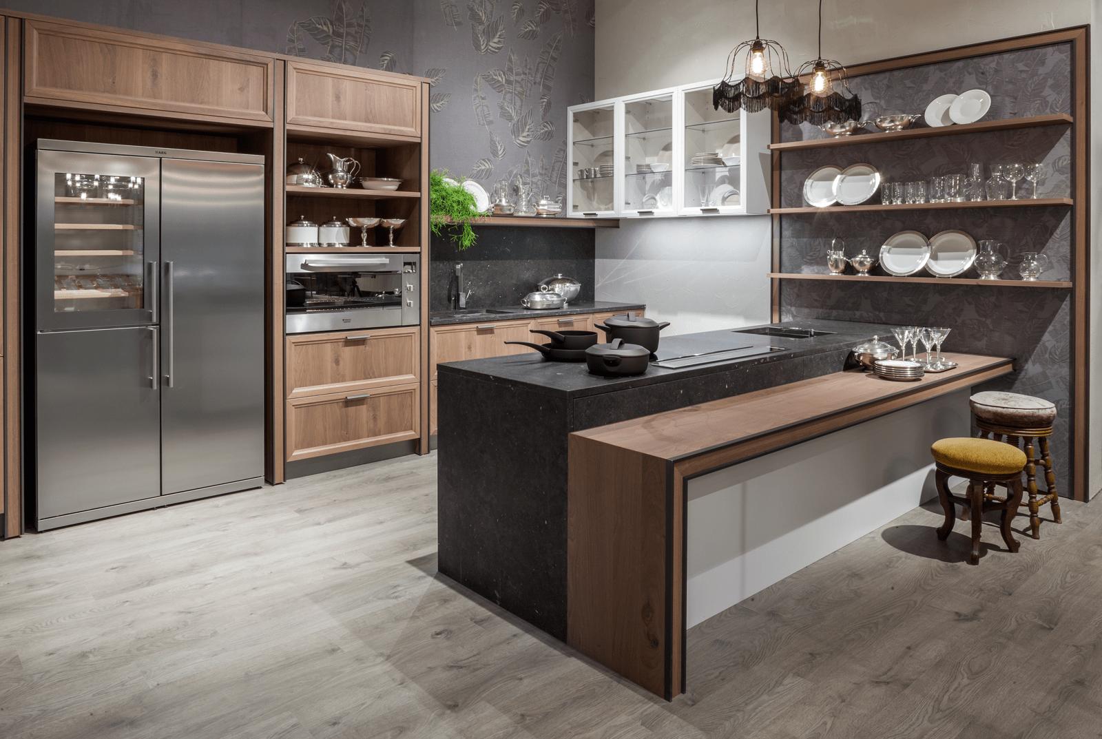 Boiserie attrezzate per le cucine cose di casa for Cucine immagini